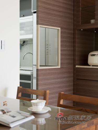 半开放式的厨房