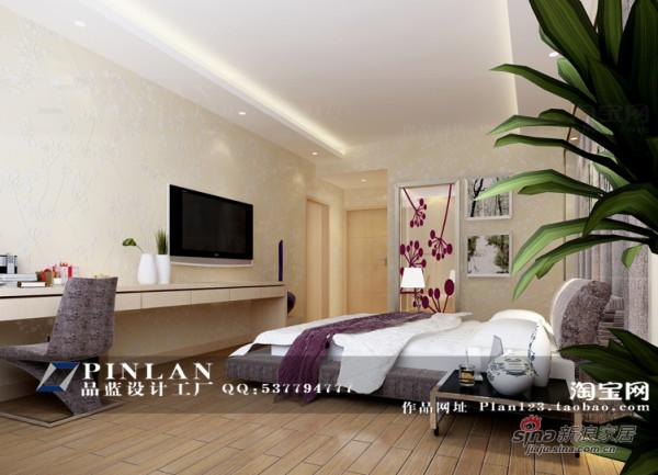 简约 四居 卧室图片来自用户2558728947在《迎新佳苑》--现代简约五房两厅170平米12的分享