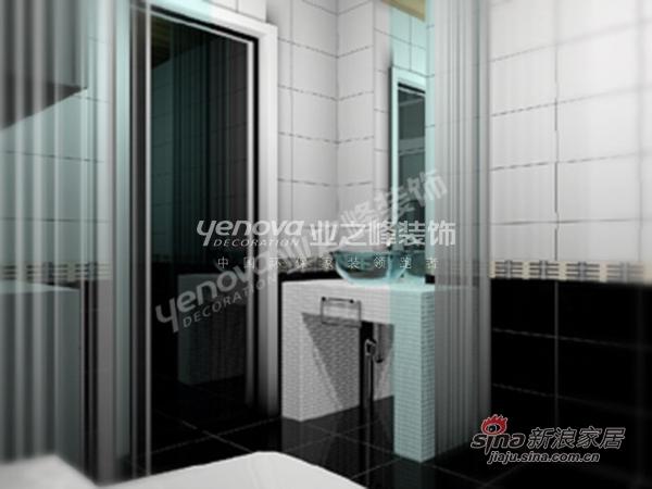 中式 三居 卫生间图片来自用户1907658205在假日风景 165平 三室两厅高雅新中式35的分享