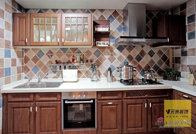 欧式 四居 厨房图片来自用户2745758987在176平米欧美风情设计77的分享