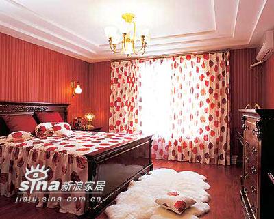 其他 其他 卧室图片来自用户2558746857在卧室家居展现无限红色诱惑86的分享