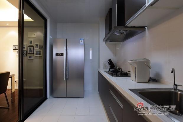简约 二居 厨房图片来自用户2737950087在6万装75平米现代简约低调家77的分享