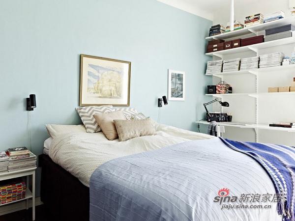 简约 二居 卧室图片来自用户2737782783在69平米的白木森林简洁公寓82的分享
