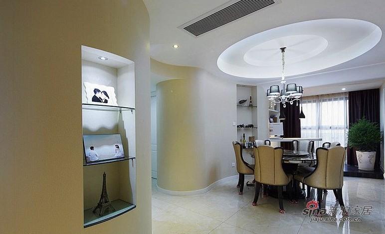 简约 三居 餐厅图片来自用户2737759857在127㎡时尚三居室实景图86的分享