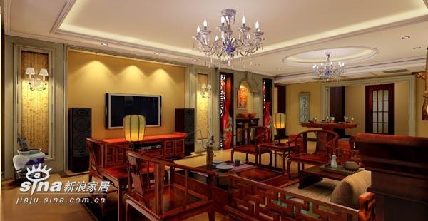 中式 三居 客厅图片来自wulijuan_16在新中式设计案例75的分享