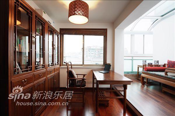 中式 别墅 书房图片来自用户2757926655在阳城世家28的分享