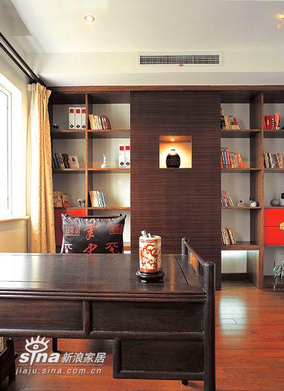 中式 四居 书房图片来自用户2748509701在这样的中式装修你见过吗?13的分享