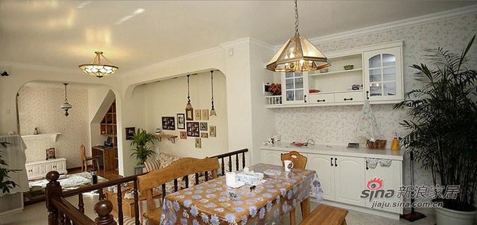 田园 三居 餐厅图片来自用户2737946093在纯情少女70平田园3居花8万80的分享