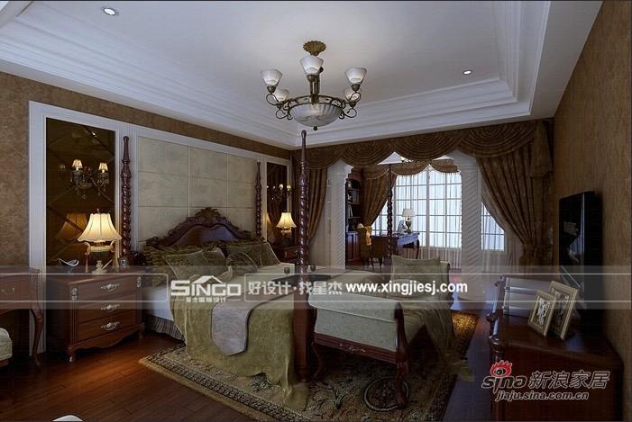 美式 别墅 卧室图片来自用户1907685403在打造休闲美式加州风格别墅72的分享