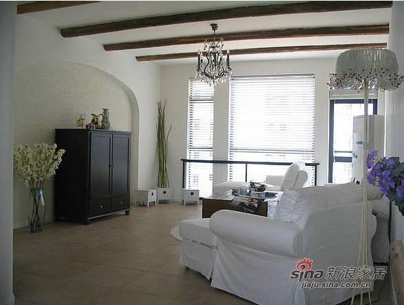 地中海 三居 客厅图片来自用户2757320995在130平蓝白地中海混搭婚房81的分享