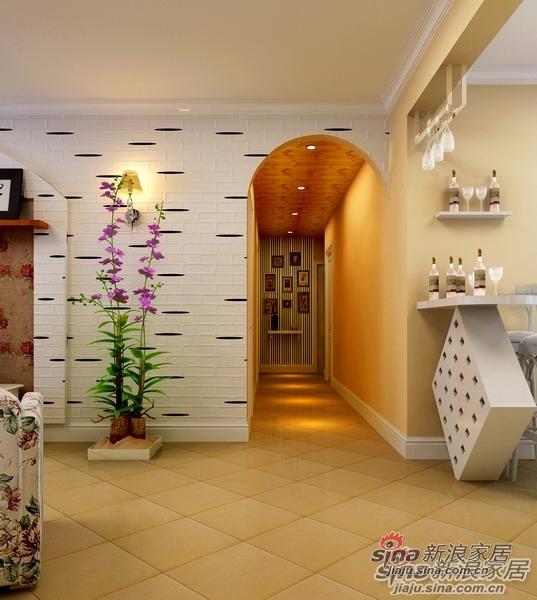 田园 四居 玄关图片来自用户2737946093在田园风格打造140平温馨简洁之家27的分享
