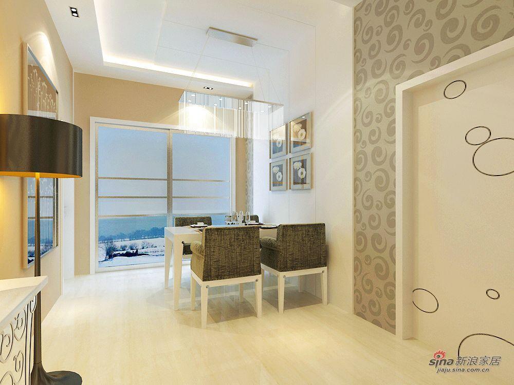 简约 三居 餐厅图片来自用户2737782783在15万青岛嘉园170平时尚3居48的分享