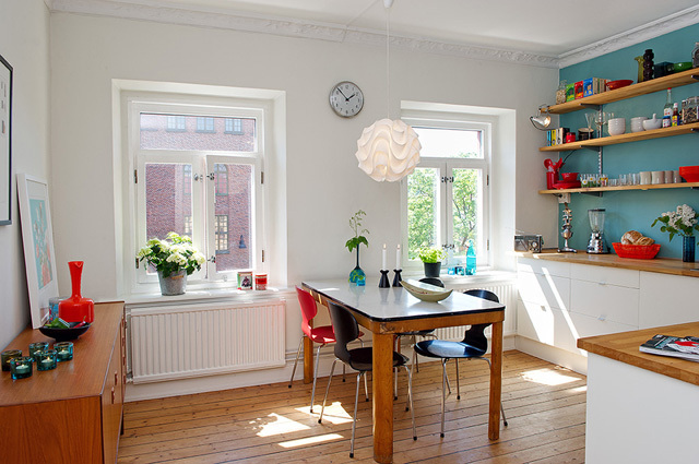 简洁 清新 舒适 悠闲 花园 厨房 森系图片来自用户2771736967在简单而自然 17个北欧乡村风格厨房装修的分享
