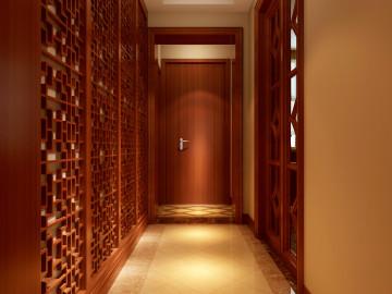 新中式320平米别墅典雅风格31