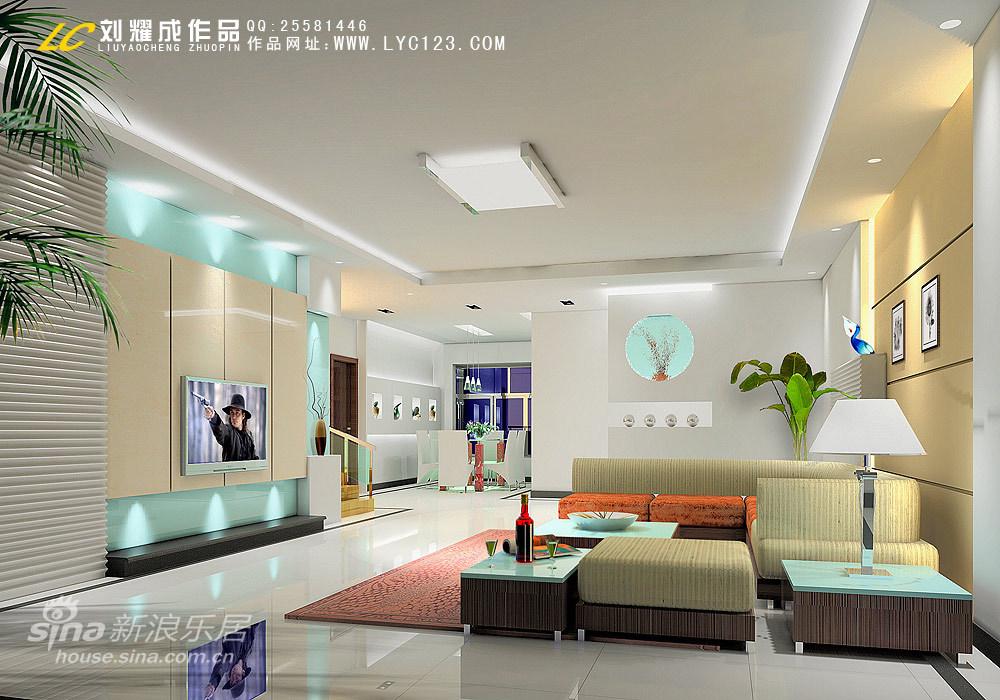简约 四居 客厅图片来自用户2745807237在错层户型设计24的分享
