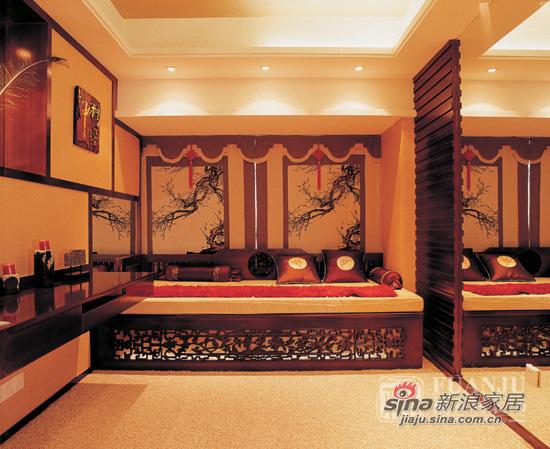 中式 二居 书房图片来自用户1907658205在富丽堂皇两居中式风格87的分享