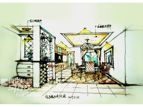 简约 三居 餐厅图片来自用户2737786973在阔达装饰精美设计图49的分享