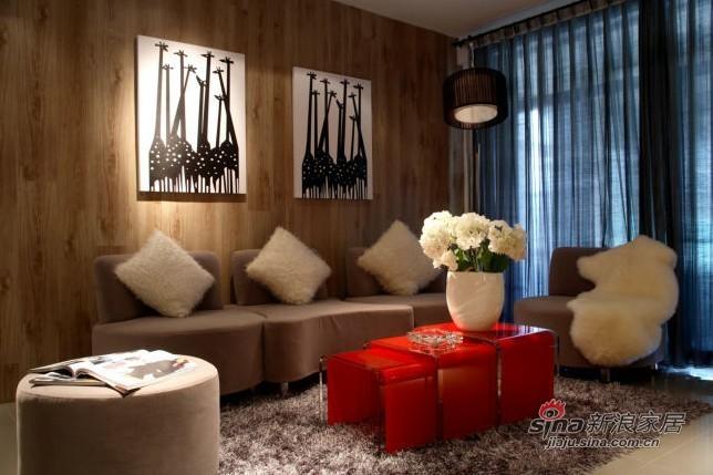 简约 二居 客厅图片来自用户2556216825在华润二十四城89平米69的分享