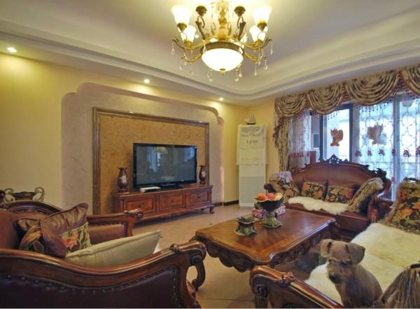 美式风格 客厅
