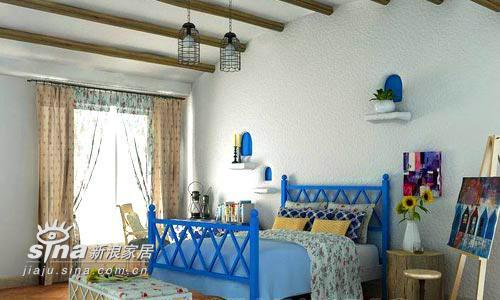 欧式 别墅 卧室图片来自用户2746953981在希腊风格的别墅设计18的分享