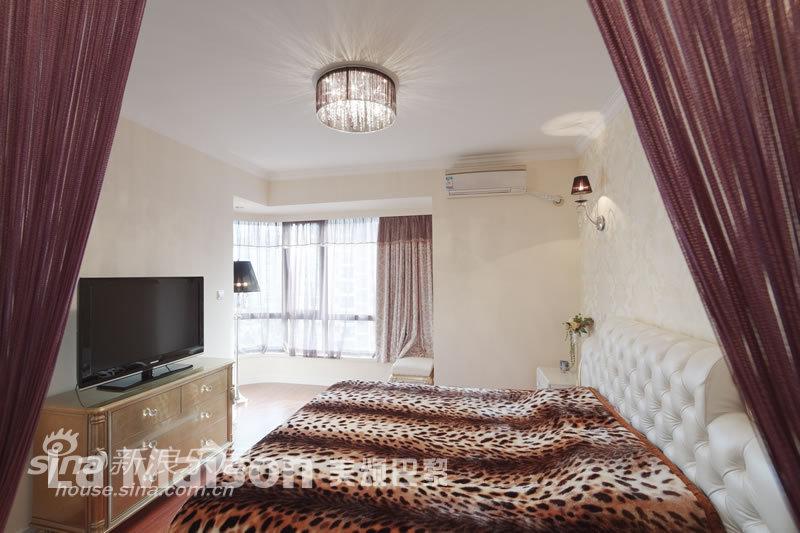 简约 三居 卧室图片来自用户2738829145在美颂巴黎简约欧式风格66的分享