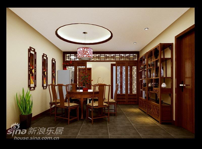 中式 二居 餐厅图片来自用户2740483635在现代中式65的分享