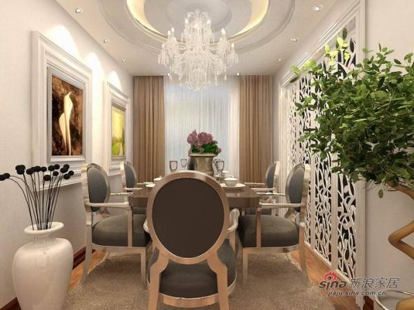 天津实创装饰—11万营造远洋城120平欧