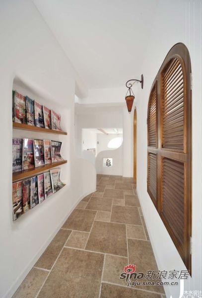 地中海 跃层 客厅图片来自佰辰生活装饰在98平米混搭东南亚风格新居27的分享