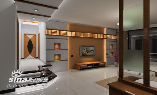 中式 三居 客厅图片来自wulijuan_16在电力新村88的分享