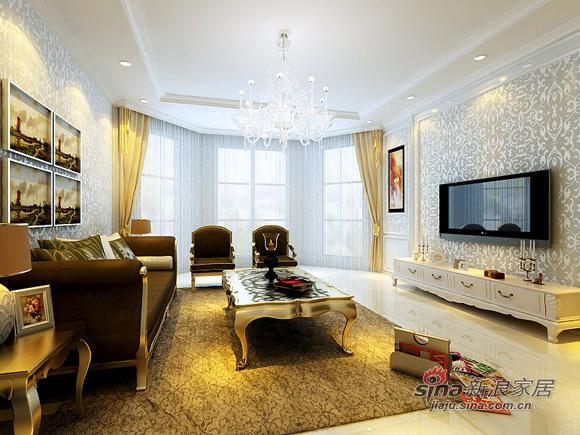 欧式 三居 客厅图片来自用户2745758987在7万大...
