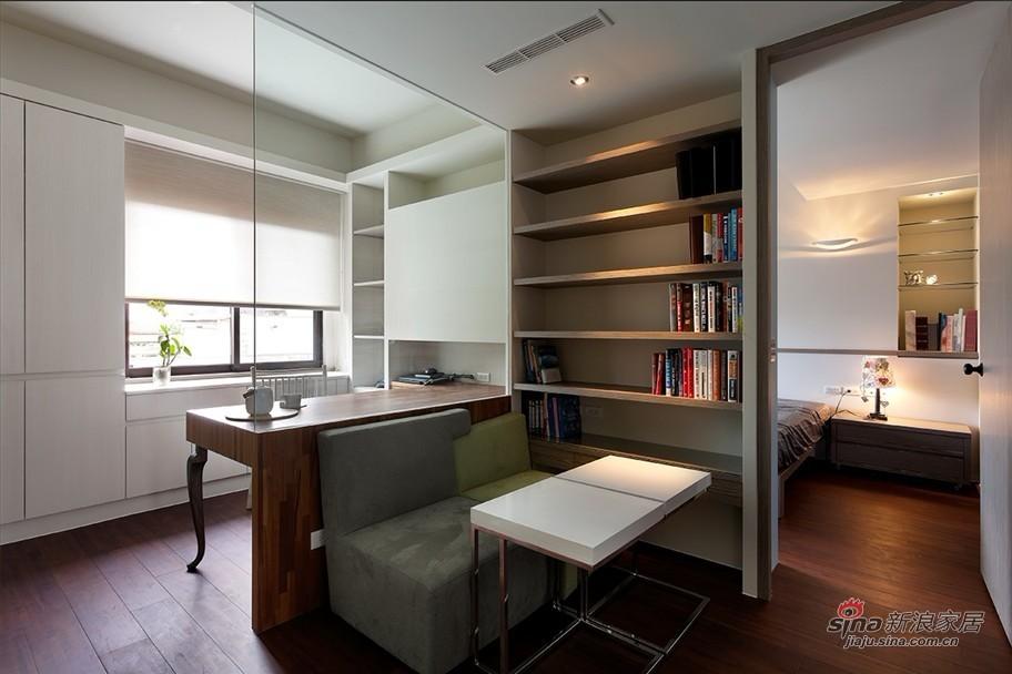 简约 二居 卧室图片来自用户2737735823在5.7万二次改造102平经典简约2居室39的分享