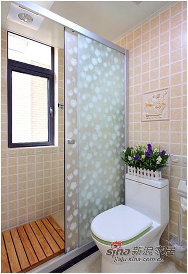 卫生间和厨房的瓷砖是一套的