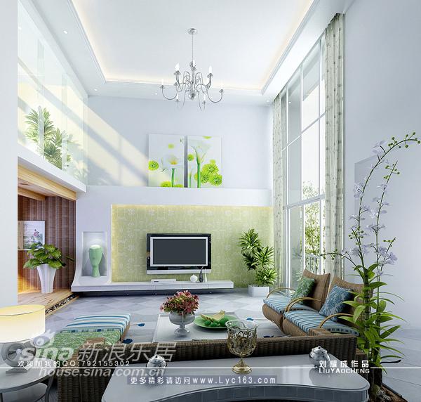 简约 一居 客厅图片来自用户2745807237在浪漫满屋-----欧式田园别墅设计88的分享