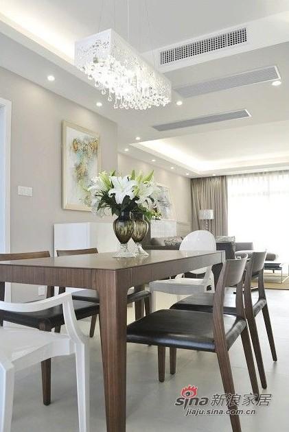 简约 三居 餐厅图片来自用户2737735823在网友晒8万装清新素静的小家95的分享