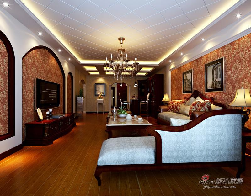 简约 一居 客厅图片来自用户2556216825在8.3万装140平简欧风格美家32的分享