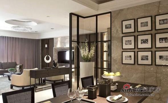 中式 三居 餐厅图片来自用户1907662981在150平方米新中式私家别院74的分享