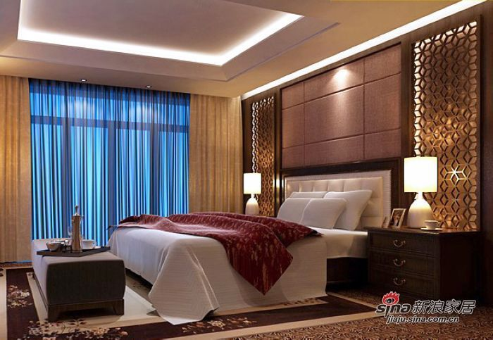 欧式 二居 卧室图片来自用户2772873991在4.9万打造70平两居室的唯美欧式家居~~56的分享