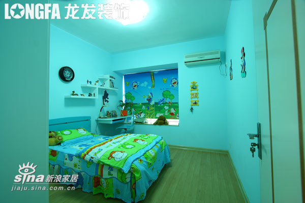 简约 二居 儿童房图片来自用户2737782783在盛天尚都93的分享