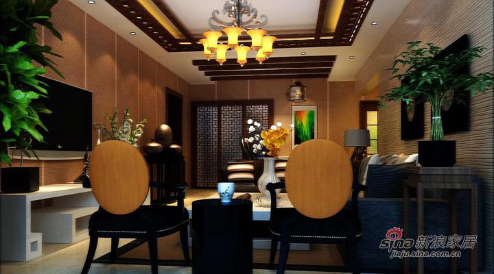 中式 三居 客厅图片来自用户1907662981在全包120平中海城别样新中式风格三居34的分享