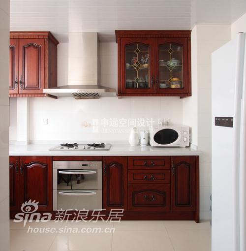 欧式 二居 厨房图片来自用户2746948411在东明家园95的分享