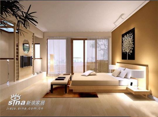 简约 别墅 卧室图片来自用户2739081033在实创装饰华远 静林湾96的分享