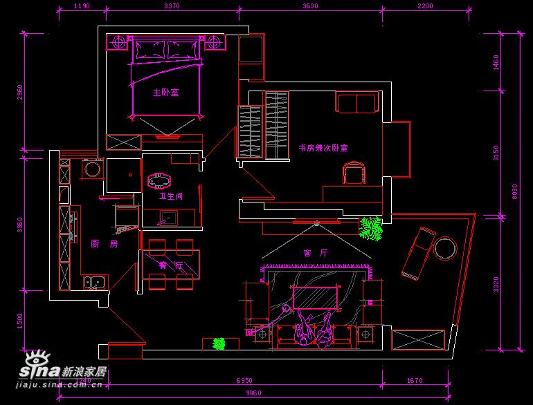 简约 二居 客厅图片来自用户2739081033在灰色印象58的分享
