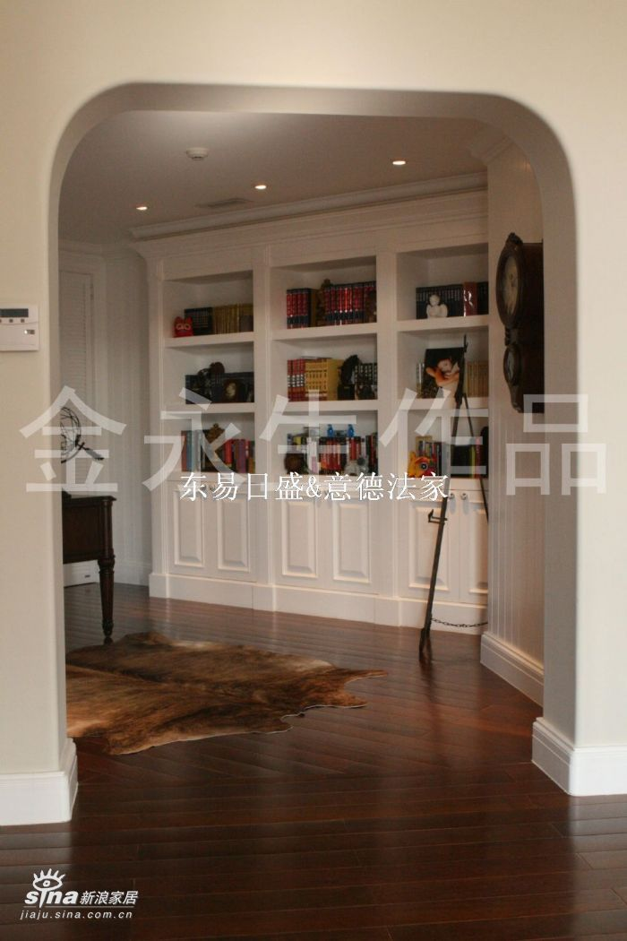 欧式 别墅 书房图片来自用户2557013183在壹仟栋(织瓦河谷)13的分享