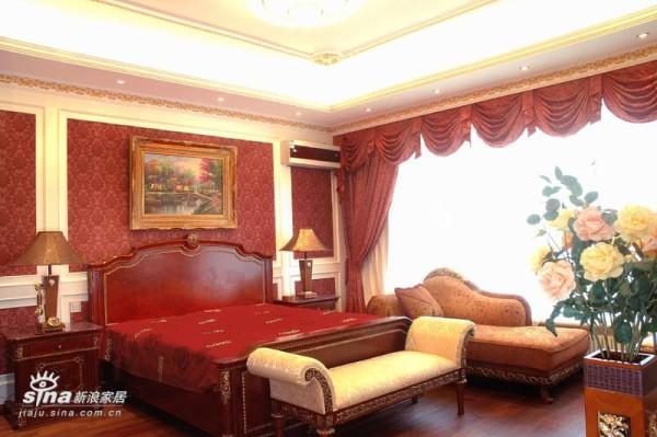 欧式 四居 卧室图片来自用户2746889121在新古典73的分享