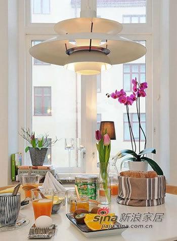 北欧 一居 餐厅图片来自用户1903515612在爱侣5W装修40平北欧风94的分享