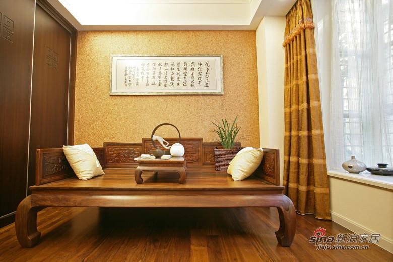 中式 三居 客厅图片来自装修微日记在【高清】178平中式古典主义大气3居46的分享