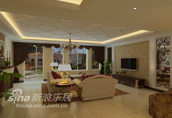 欧式 别墅 客厅图片来自用户2746889121在340平孔雀城别墅欧式风情78的分享