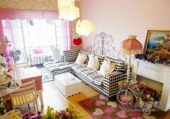 田园 二居 客厅图片来自用户2737791853在失恋不伤心80后剩女翻新屋37的分享