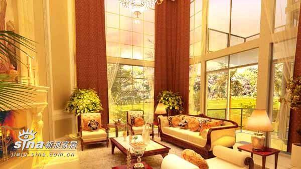 欧式 别墅 客厅图片来自用户2746869241在欧洲别墅56的分享