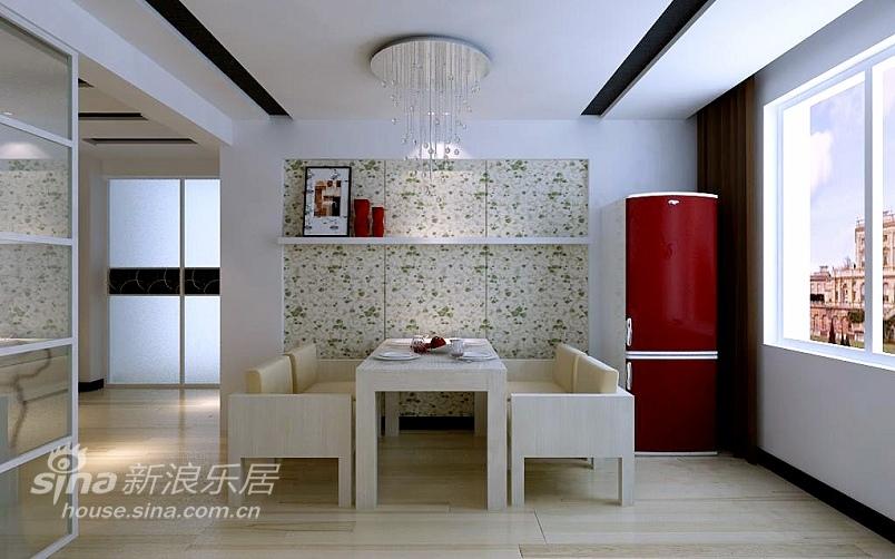 简约 三居 餐厅图片来自用户2738093703在淡雅而不失奢华的大三居11的分享